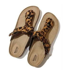 Mossimo Supply Co. Animal Print Sandals